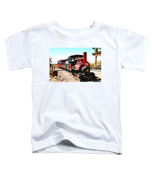 Calico And Odessa Rail Road Toddler T-Shirt