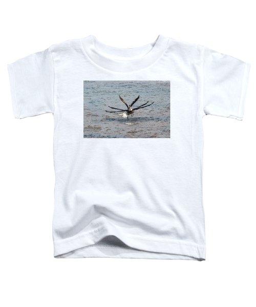 California Brown Pelicans Flying In Tandem Toddler T-Shirt