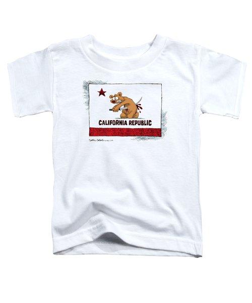 California Budget Harakiri Toddler T-Shirt