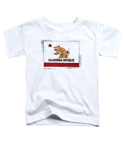 California Budget Harakiri Toddler T-Shirt