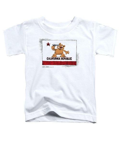 California Budget Suicide Toddler T-Shirt