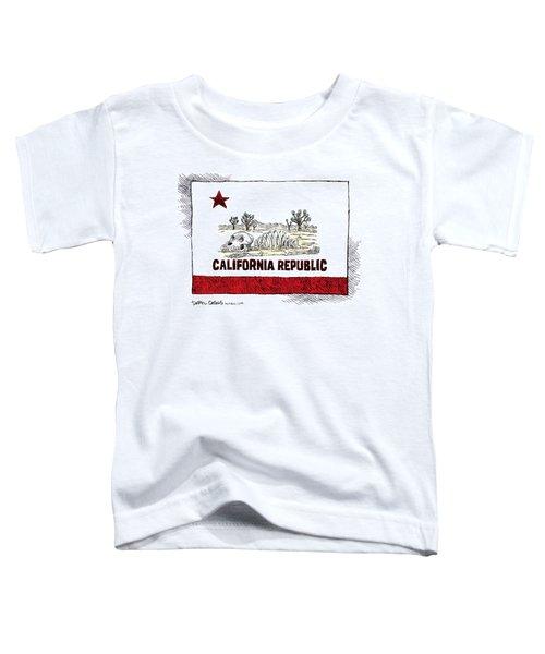 California Drought Toddler T-Shirt