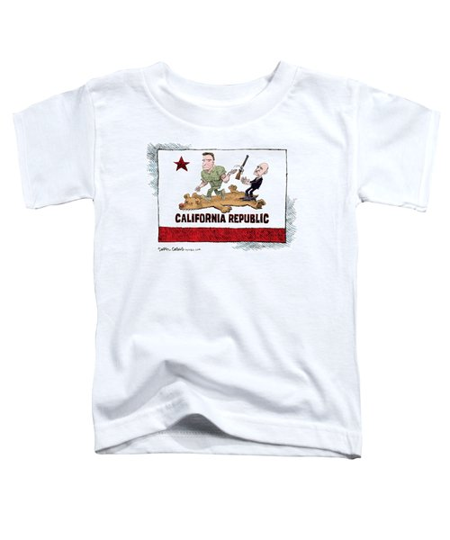 California Governor Handoff Toddler T-Shirt