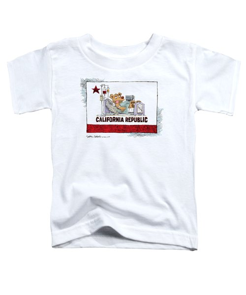 California Is Sick Toddler T-Shirt
