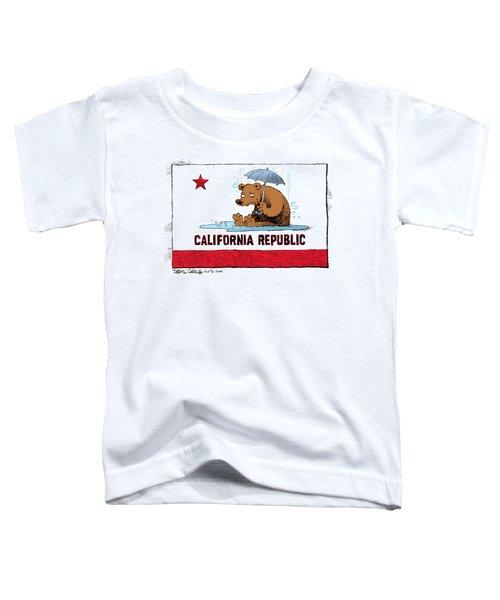 California Rain Toddler T-Shirt