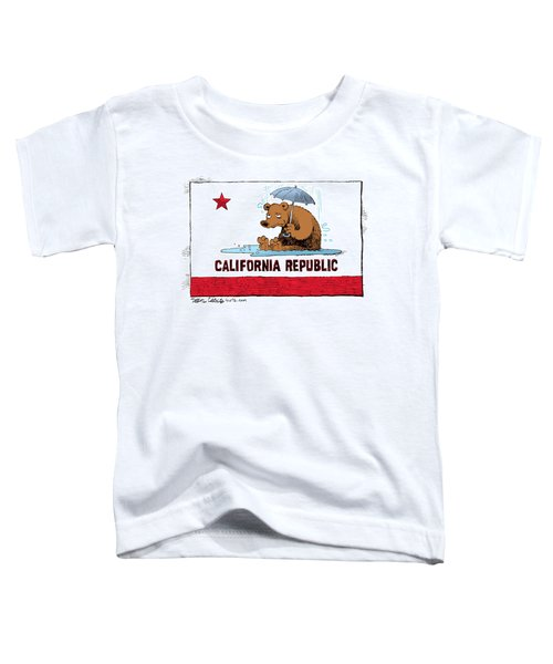 California Rain Toddler T-Shirt