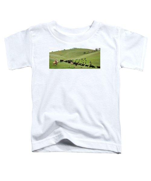 California Ranching Toddler T-Shirt