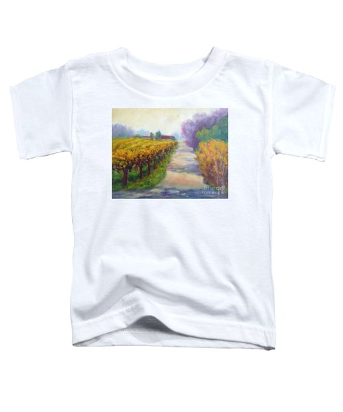 California Wine Country Toddler T-Shirt