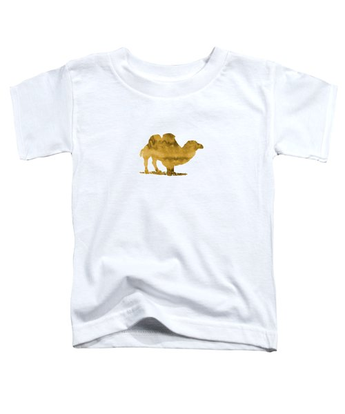 Camel Toddler T-Shirt by Mordax Furittus