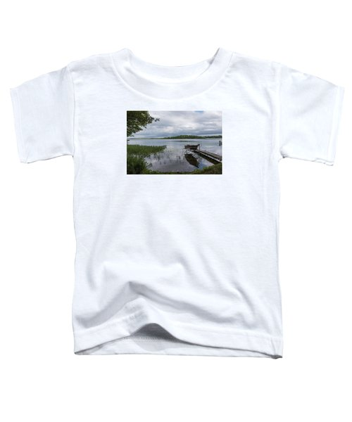 Camelot Island From Wilderness Point Toddler T-Shirt by Gary Eason