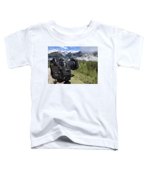 Camera Mountain Toddler T-Shirt