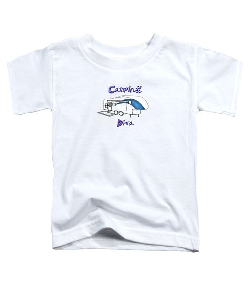 Camping Diva Toddler T-Shirt