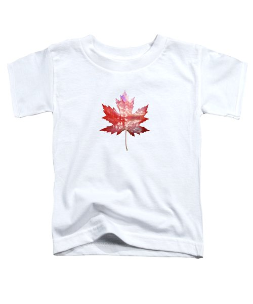 Canada Maple Leaf Toddler T-Shirt