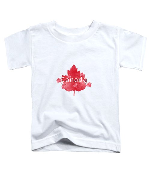 Canada Proud Toddler T-Shirt