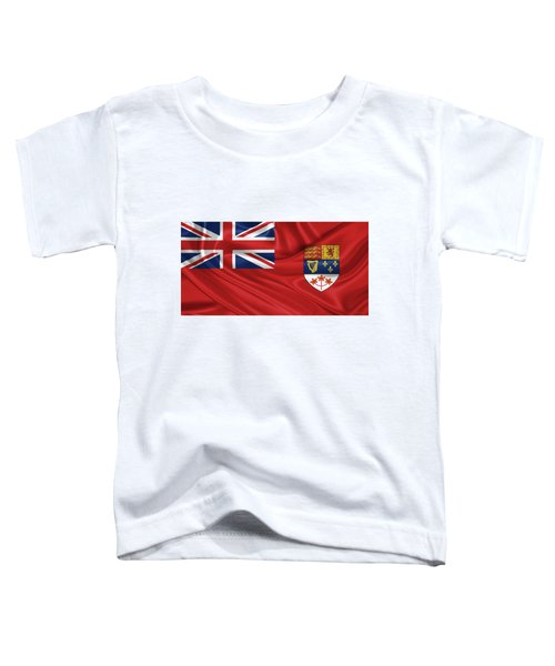 Canadian Red Ensign 1957-1965 Toddler T-Shirt