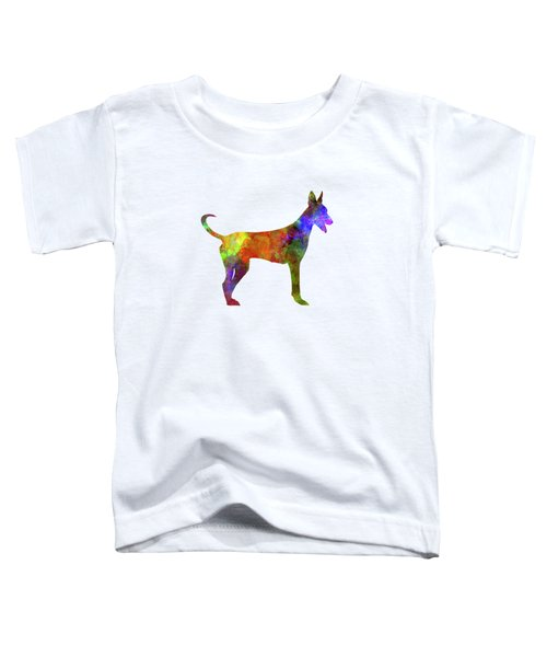 Canarian Warren Hound In Watercolor Toddler T-Shirt by Pablo Romero