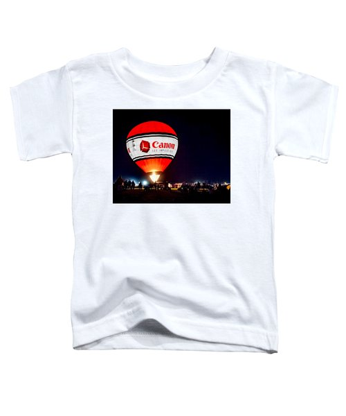 Canon - See Impossible - Hot Air Balloon Toddler T-Shirt