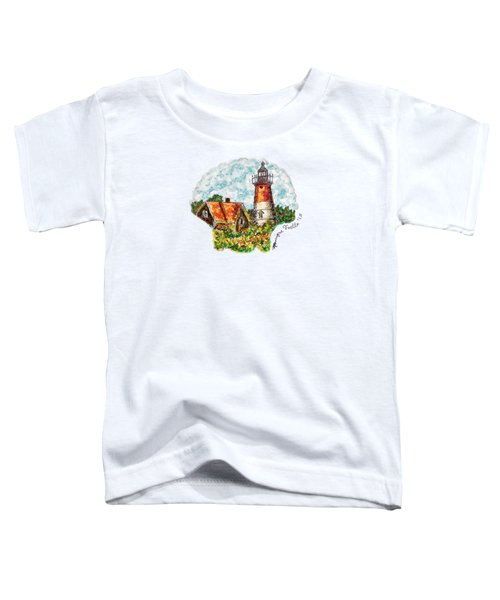 Cape Cod Lighthouse Toddler T-Shirt