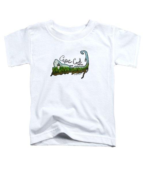 Cape Cod, Mass. Toddler T-Shirt