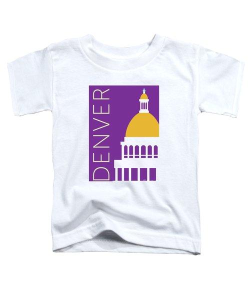 Denver Capitol/purple Toddler T-Shirt