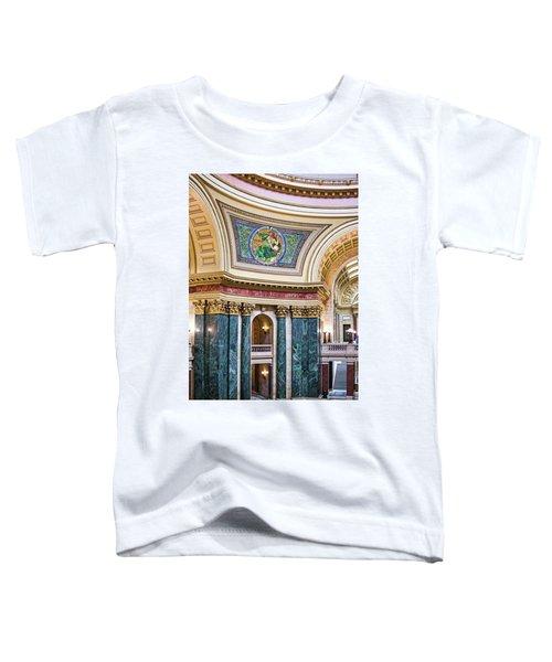 Capitol Rotunda -madison - Wisconsin Toddler T-Shirt