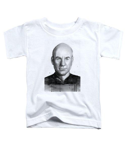 Captain Picard Toddler T-Shirt