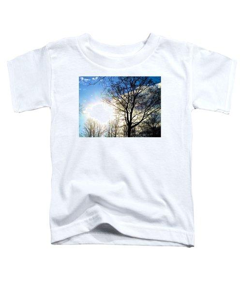 Capturing The Morning Sun Toddler T-Shirt