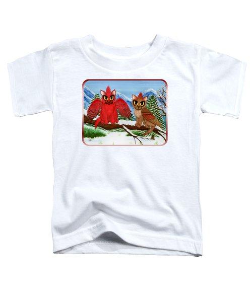 Cardinal Cats Toddler T-Shirt