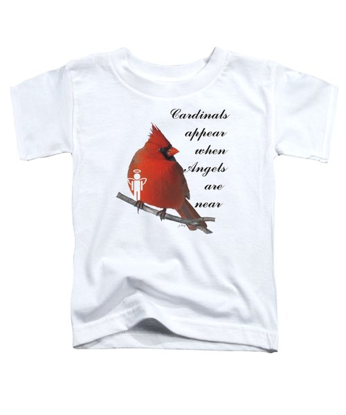 Cardinals And Angels Toddler T-Shirt