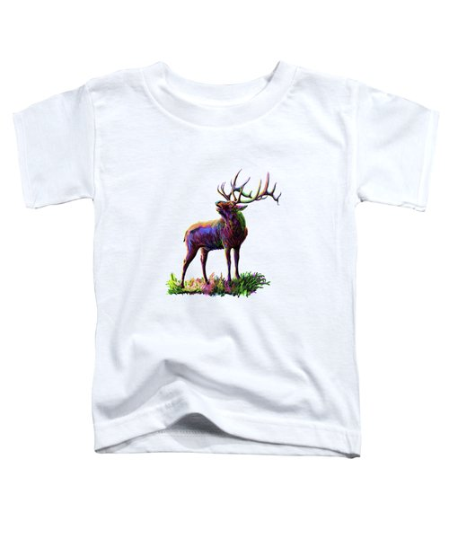 Colorful Caribou Toddler T-Shirt