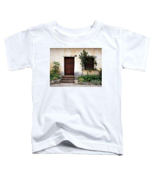 Carmel Mission Door Toddler T-Shirt