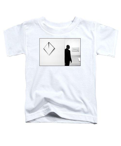 Carmen Herrera At The Whitney 1 Bw Toddler T-Shirt
