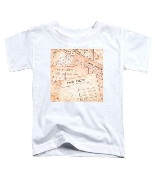 Cartes Postales Toddler T-Shirt
