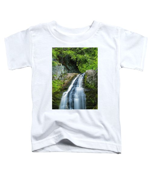 Cascade Falls In South Portland In Maine Toddler T-Shirt