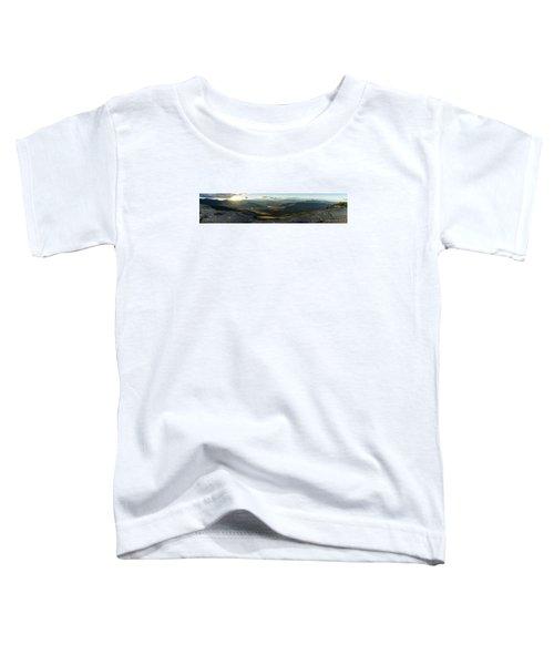 Cascade Mountain Sunset Toddler T-Shirt