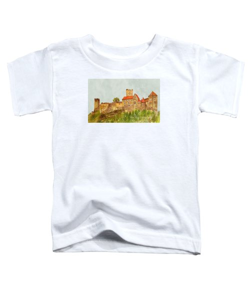 Castle Hardegg Toddler T-Shirt by Angeles M Pomata