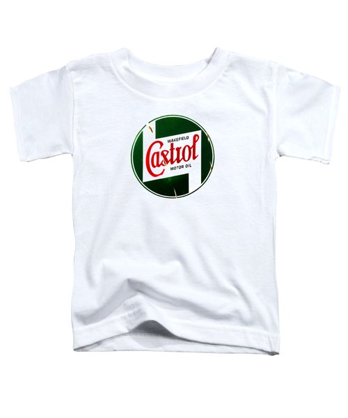 Castrol Motor Oil Toddler T-Shirt