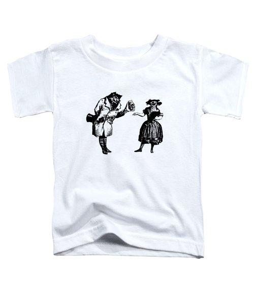Cat And Mouse Grandville Transparent Background Toddler T-Shirt