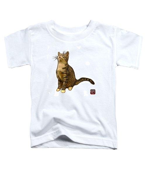 Cat Art - 3771 Wb Toddler T-Shirt