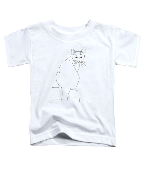 Cat-artwork-prints Toddler T-Shirt