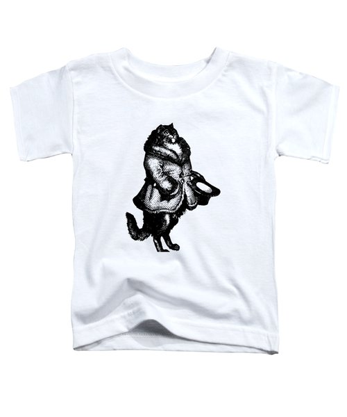 Cat Caller Grandville Transparent Background Toddler T-Shirt