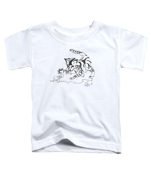 Cat- Cute Kitty  Toddler T-Shirt