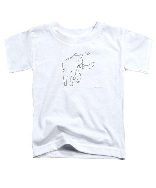 Cat-drawings-black-white-2 Toddler T-Shirt