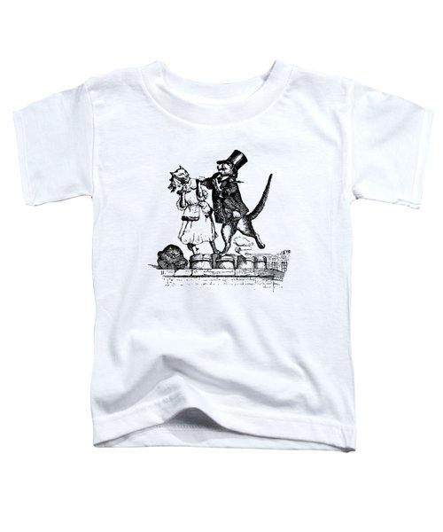 Cat Love Grandville Transparent Background Toddler T-Shirt