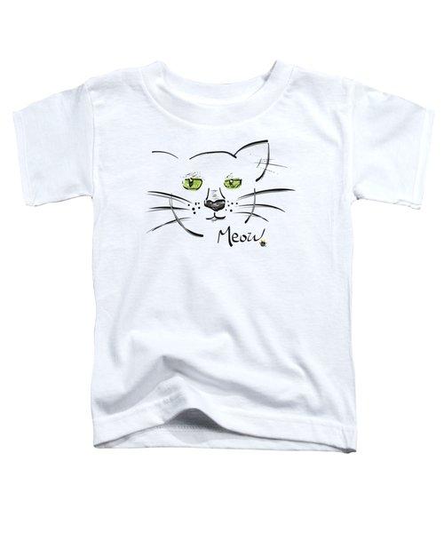 Cat Meow Toddler T-Shirt