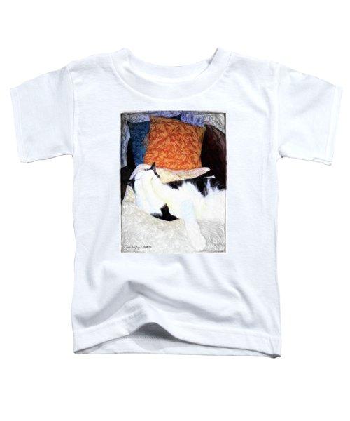 Cat Nap - Zen And The Art Of Washing Toddler T-Shirt