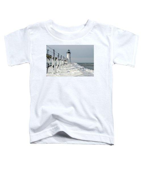 Catwalk With Icy Fringe - Horizontal Version Toddler T-Shirt