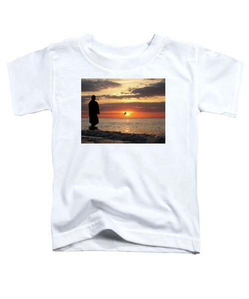Caught At Sunset Toddler T-Shirt