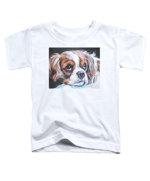 Cavalier King Charles Spaniel Blenheim Toddler T-Shirt