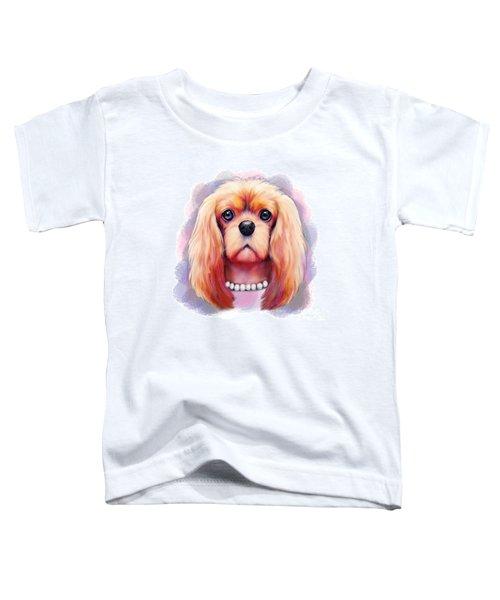 Cavalier Pearls  Toddler T-Shirt